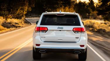 Jeep Grand Cherokee Summit - full rear