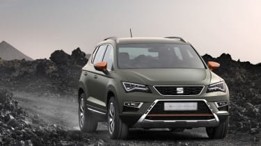 SEAT Ateca X-Perience front