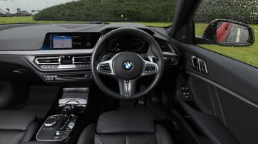 BMW 120d - interior