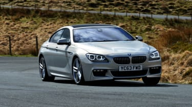 BMW 6 Series Gran Coupe 2014 front cornering