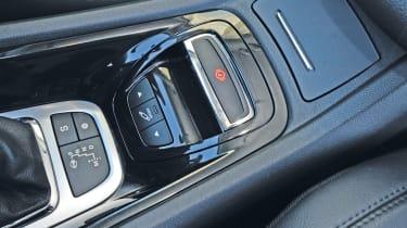 Citroen C5 interior detail