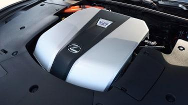 Lexus LS 500h - engine