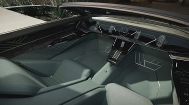 Audi skysphere concept - cabin