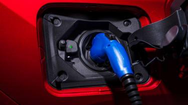 Toyota RAV4 Prime - charging