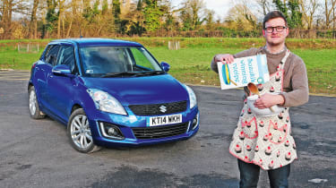 "Chris Ebbs - Suzuki Swift <a href=""https://www.autoexpress.co.uk/suzuki/swift/91503/long-term-test-review-suzuki-swift"">long-term test</a>"