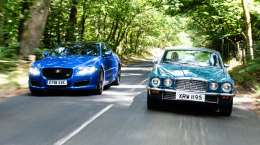 Jaguar XJR 575 and XJ12 coupe