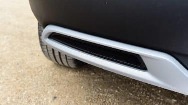Vauxhall Grandland X - exhaust
