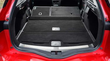 Renault Megane ST - boot seats down