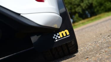 Ford Focus ST Mountune m365 - mud flaps