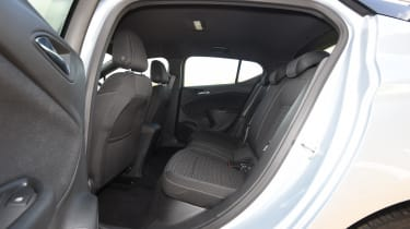 Vauxhall Astra diesel - back seats