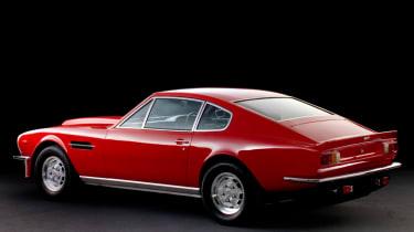 Aston Martin V8 Vantage rear