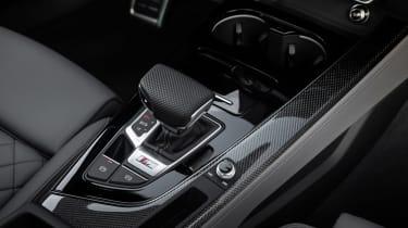 2019 Audi S4 saloon shifter