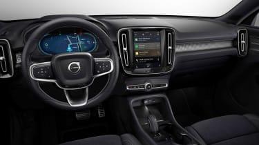 Volvo XC40 P8 Recharge - interior