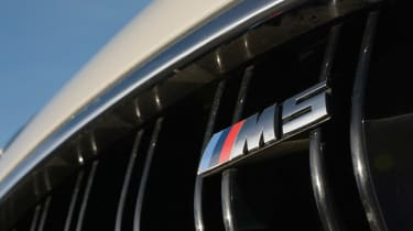 BMW M5 Competition Pack badge