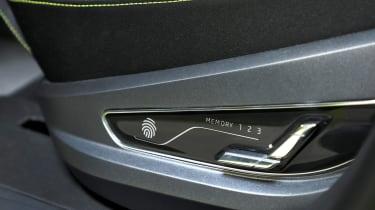 Skoda Vision X concept - seat controls