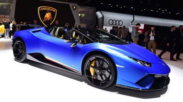 New Lamborghini Huracan Performante Spyder header