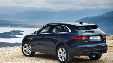 Jaguar F-Pace MY2018 - rear quarter