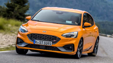 Ford Focus ST - front action