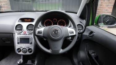 Vauxhall Corsa ecoFLEX interior