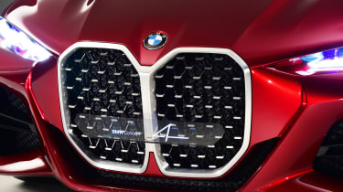 BMW Concept 4 Series - grille