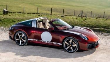 Porsche 911 Targa 4S Heritage Design Edition - above