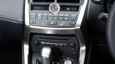 Lexus NX interior detail