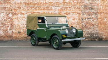 Land Rover Series 1 Reborn - front