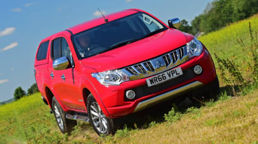 Mitsubishi L200 Long-term test review - front