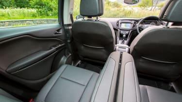 Vauxhall Zafira Tourer 2016 rear seats