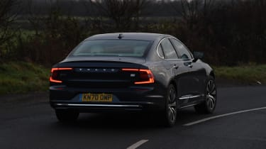 Volvo S90 - rear cornering