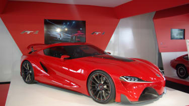 Toyota FT-1 at Goodwood