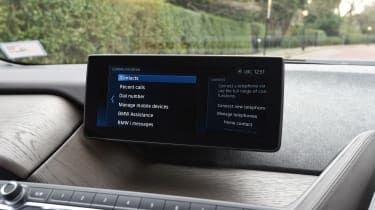 BMW i3s in-depth review - infotainment