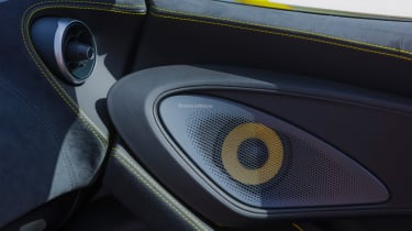Mclaren 570s review - speaker
