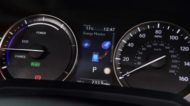 Lexus RX - dials