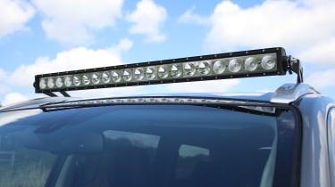 Mitsubishi Shogun Sport SVP Concept - lights