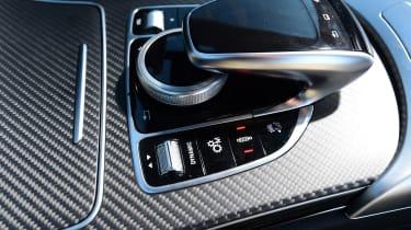 Mercedes-AMG C 63 S Coupe Edition 1 - centre console
