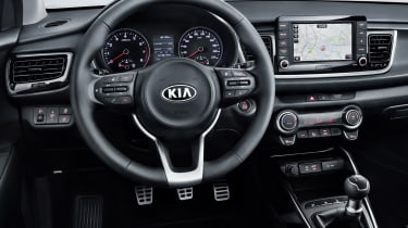 New Kia Rio - dash detail
