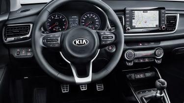 New Kia Rio - dash detail