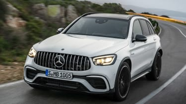 Mercedes-AMG GLC 63 - front action