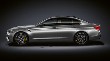 BMW M5 Competition Pack - side