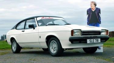 Minder Cars - Capri front three quarter