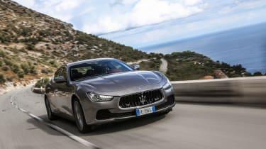 Maserati Ghibli 2016 tracking
