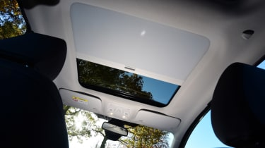 Ford Fiesta Vignale roof