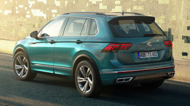 New 2020 Volkswagen Tiguan Facelift Arrives With Design And Tech Updates Pictures Auto Express