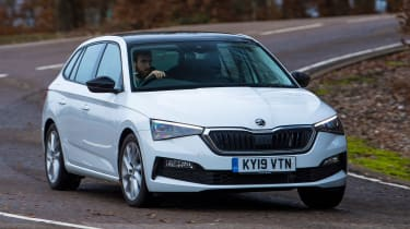 Skoda Scala Long termer - cornering