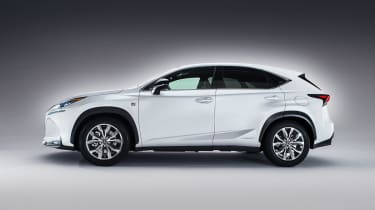 Lexus NX revealed side