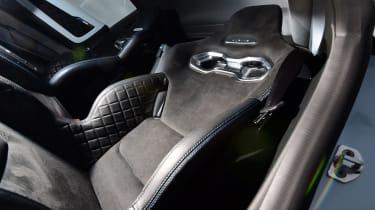 Alpine A110 Pure - seats