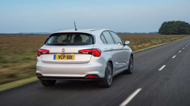 Fiat Tipo - rear action