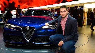 Alfa Romeo Giulia - Richard Ingram