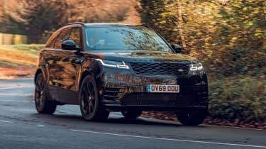 Range Rover Velar R-Dynamic Black - front cornering